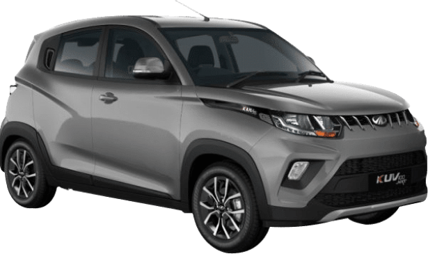 Twilight Grey Mahindra KUV100
